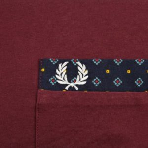 Fred Perry Drakes Heritages tee pocket