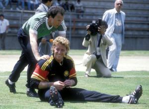 Beckenbauer und Toni Schumacher