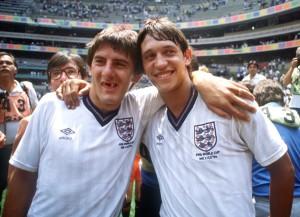 England Beardsley und Lineker