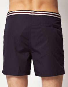 Fred Perry Tape-Waistband-Swim-Shorts I