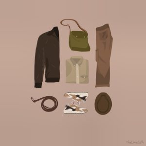 Indiana Jones - Outfit Grid