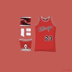 Michael Jordan Outfit Grid