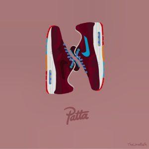 Nike Air Max 1 Patta X Parra