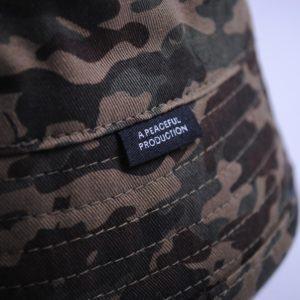 Peaceful Hooligan Revolver Bucket hat camo inside
