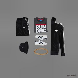 RUN DMC Outfit Grid
