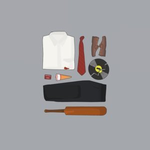 Shaun of the Dead - Outfit Grid