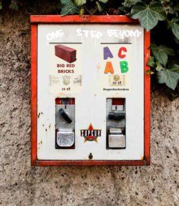 Kaugummiautomat ?