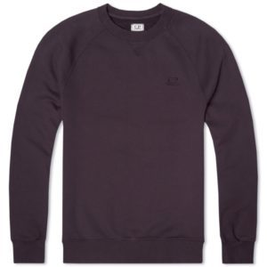 C.P. Company Garment Dyed Mako Fleece Crew Sweat