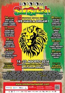 Rototom Line Up 2014