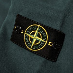 Stone Island Garment Dyed Cotton Fleece Crew Sweat 2