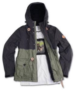 GO002C FLUX CAPACITOR BORG LINED JACKET 2