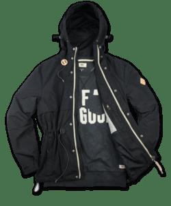 UG Cali shell jacket black