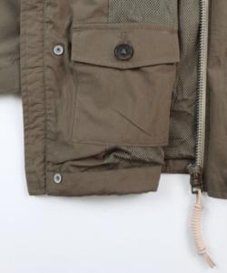 UG Cali shell jacket khaki