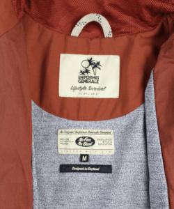 UG Calu shell jacket orange