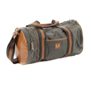 Fred Perry Barrel Bag Iris Leaf