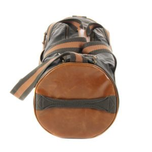 Fred Perry Barrel Bag Iris Leaf2
