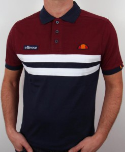 Polo Burgundy navy