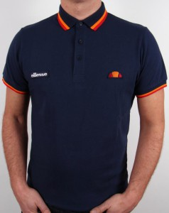 Polo tipped navy