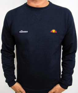 Sweat badge navy