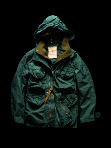 MULTIPOCKET SMOCK green