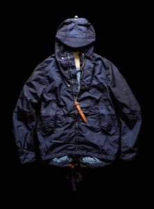 Short Parka navy