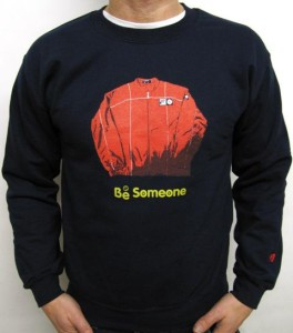 th41387470802Be Someone Sweatshirt in Navy 2