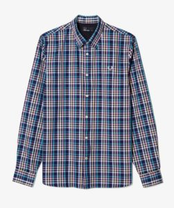 Fred Perry Bold Gingham Shirt - Mid Imperial
