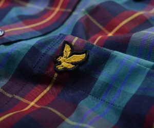 Lyle & Scott L:S Tartan Shirt New Navy2