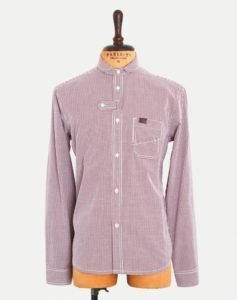 Marshall Artist DOUBLE POCKET SHIRT OX BLOOD