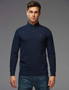 BARBOUR STANDARD LONG SLEEVE POLO