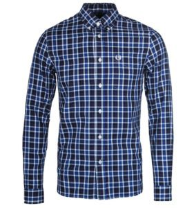 FRED PERRY LARGE HERRINGBONE CHECK SHIRT