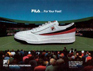 Fila Footwear Premiere 1983