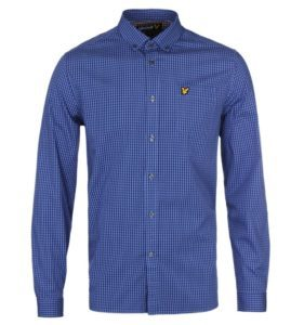 LYLE & SCOTT VINTAGE GINGHAM CHECK SHIRT