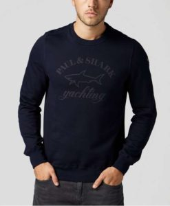 Paul & Shark Logo Crew Neck Sweatshirt