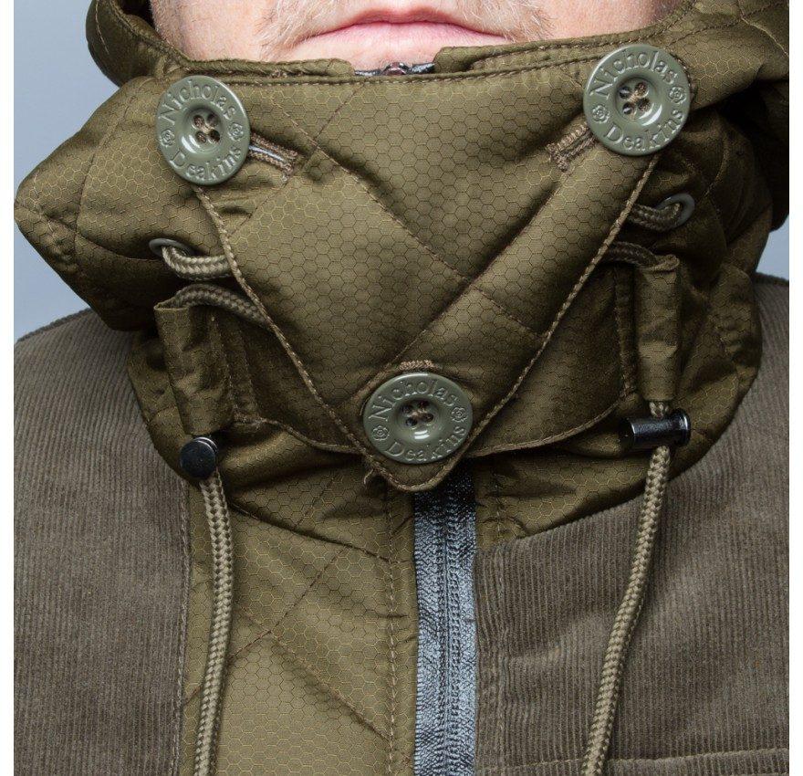 Cutter Jacket khaki details
