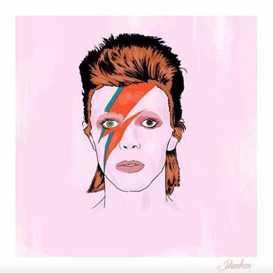 Bowie by Duckas