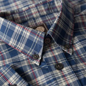 BLUE TARRAN CHECK SHIRT