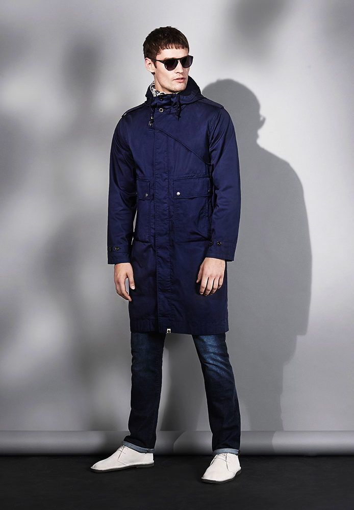 NAVY CARTWRIGHT PARKA