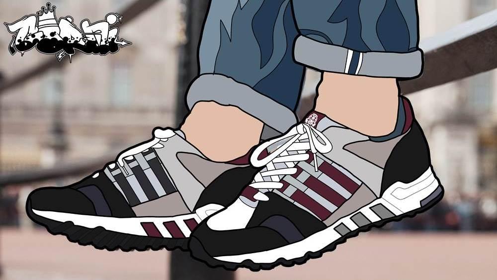 Adidas EQT Cushion 93 X Footpatrol London