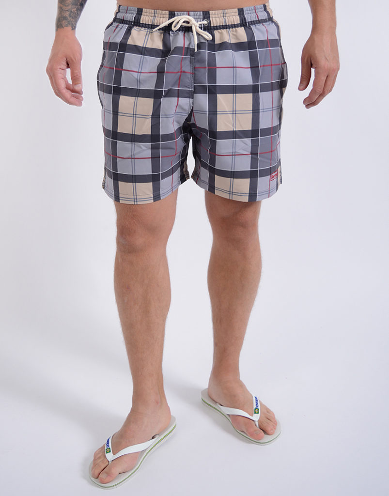 Barbour Tartan Lomond Swim Shorts Dress Tartan