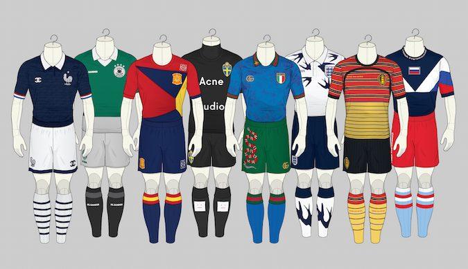 Wenn Mode auf Fußball trifft
