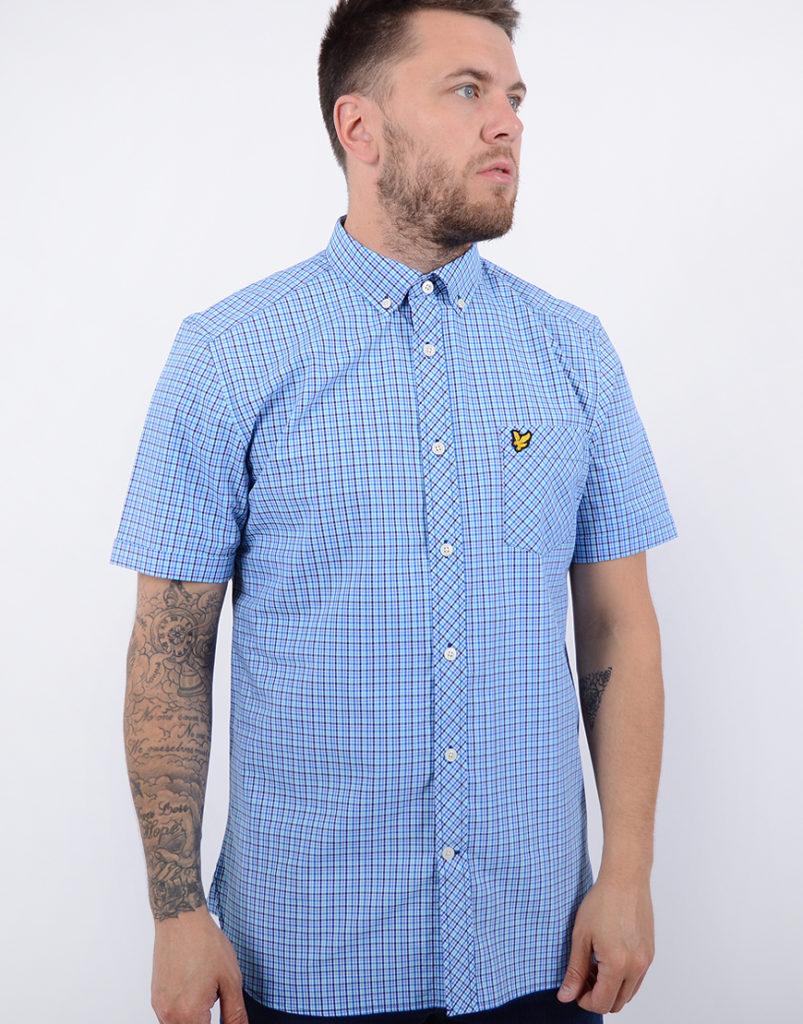 Lyle & Scott Micro Check Shirt