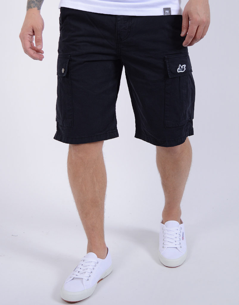 Peaceful Hooligan Container Shorts Navy