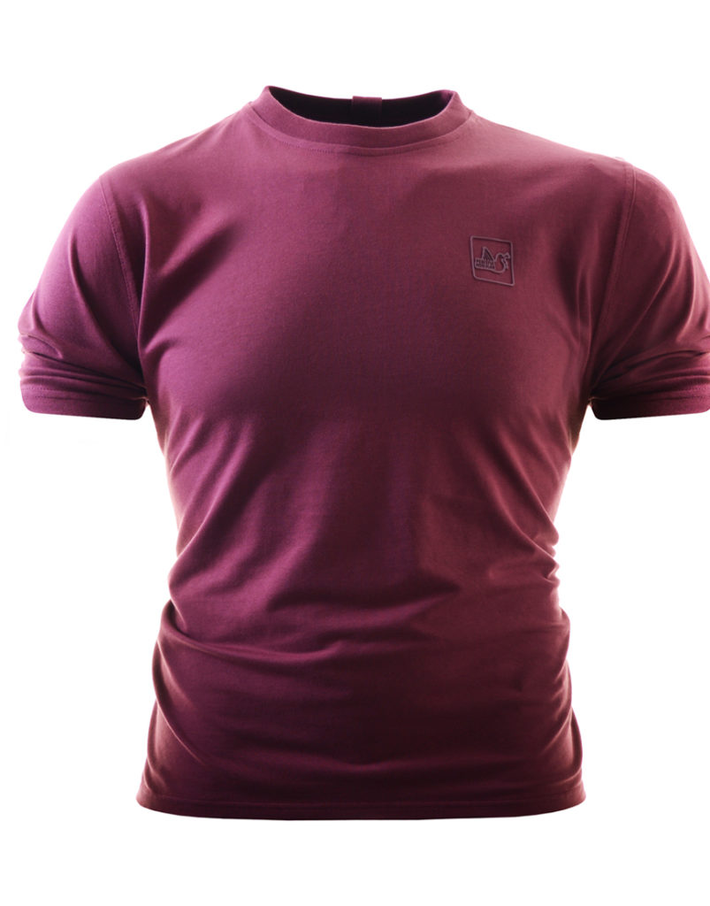 Peaceful Hooligan Terrace T-Shirt Bordeaux