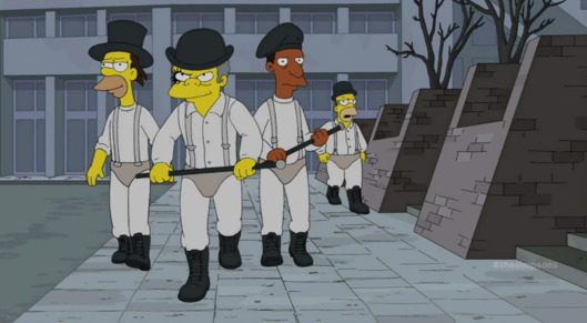 The Simpsons X Stanley Kubrick
