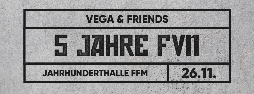 Vega & Friends – Fünf Jahre FREUNDE VON NIEMAND