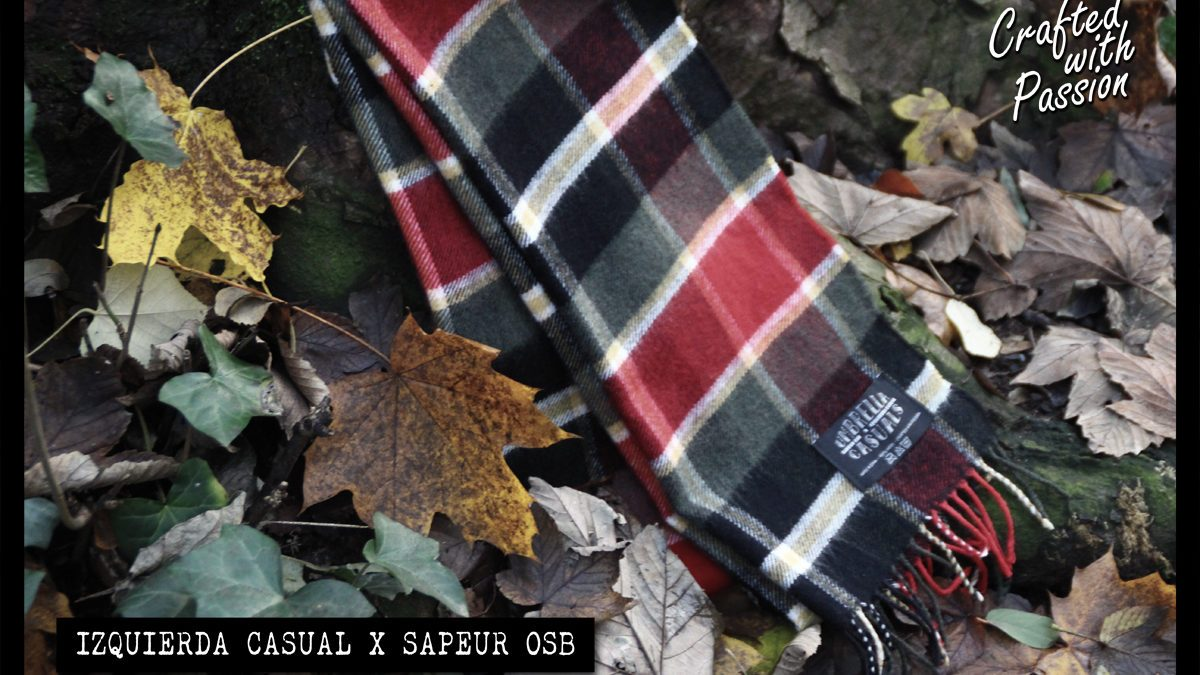 UMBRELLA CASUALS Schal by Izquierda Casual X Sapeur OSB