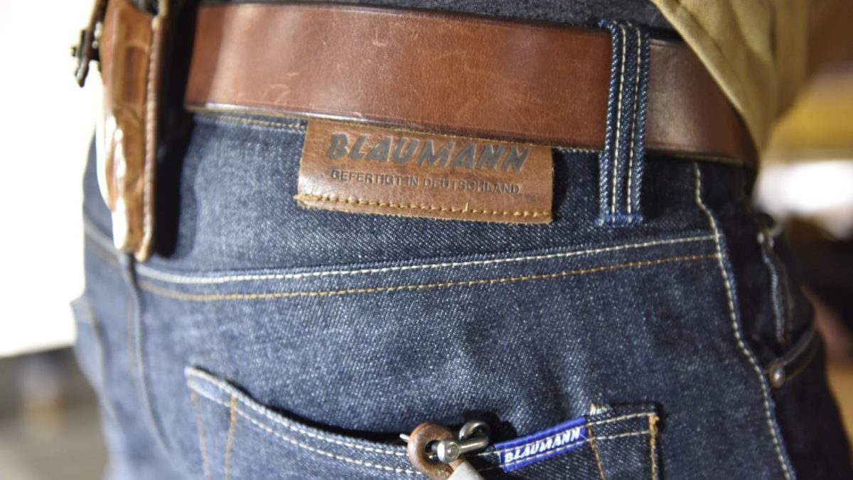 Made in Germany: Blaumann-Jeanshosen