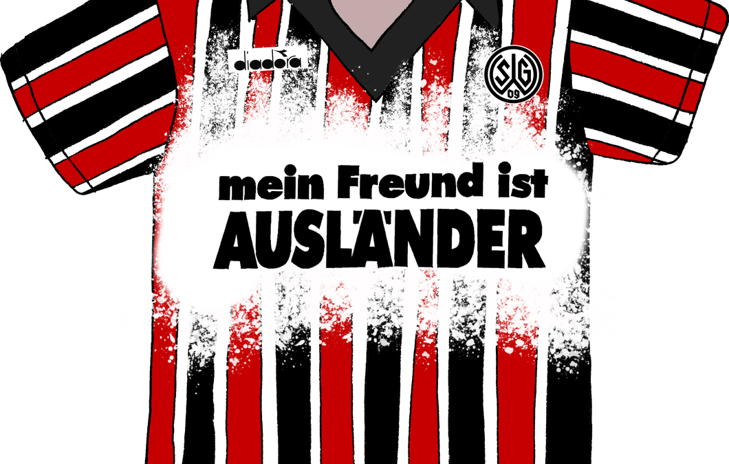 """""""mein Freund ist Ausländer"""" by Gorni Art"""