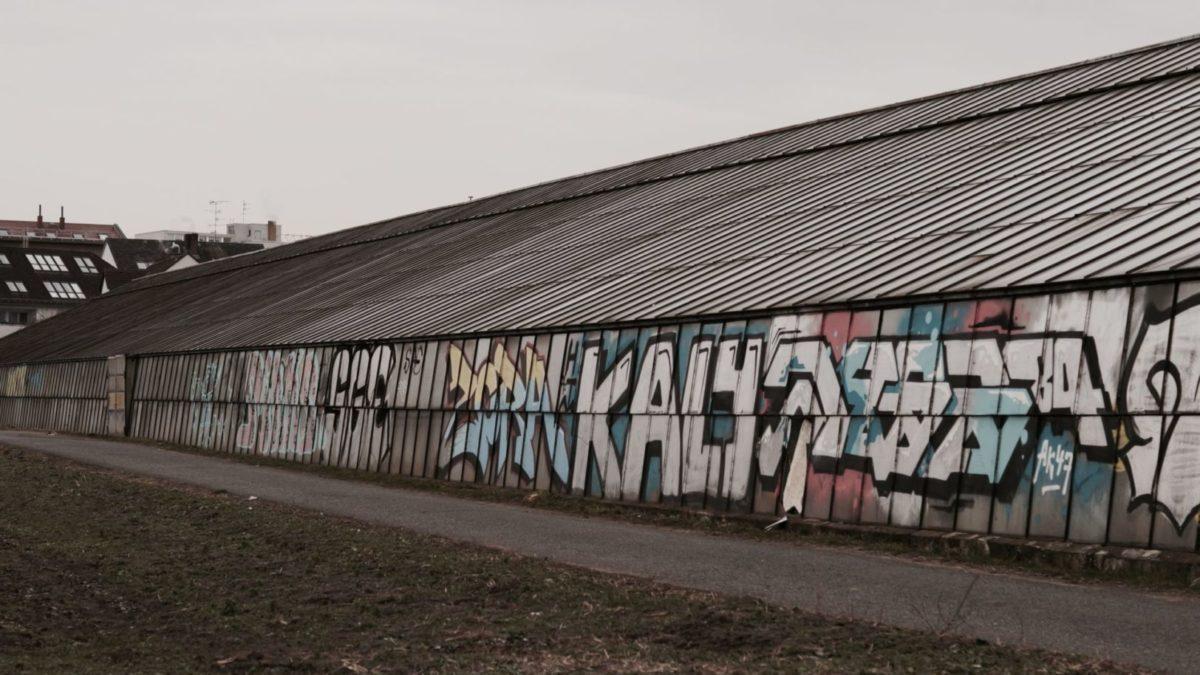 Die Gewächshäuser von Oberrad & Frankfurter Grie Soß